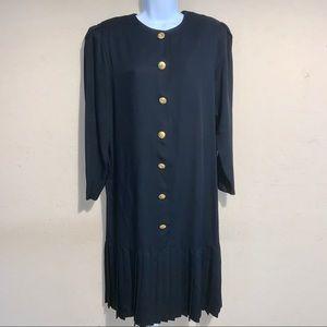 Lady Carol Vintage black dress size 14